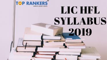 LIC HFL Syllabus 2019