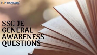 SSC JE General Awareness Questions & Answers 2020