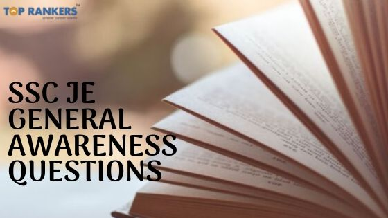SSC JE General Awareness Questions