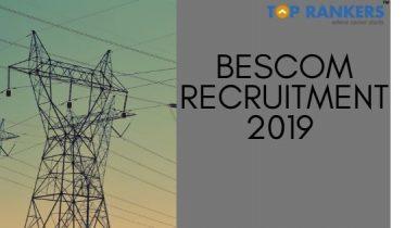 BESCOM Recruitment 2019 – Apply for 400 vacancies