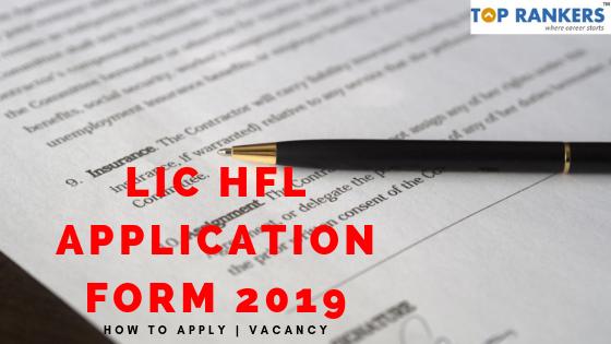 LIC HFL Application Form