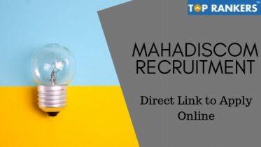 MAHADISCOM Recruitment 2019 – Apply for 450 vacancies