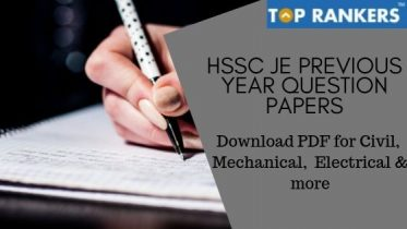 HSSC JE Previous Year Question Papers – Download PDF