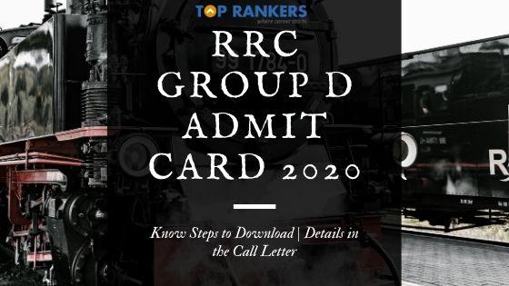 RRC Group D Admit Card