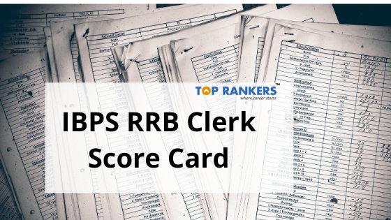 ibps rrb clerk score card