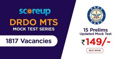 DRDO MTS Mock Test Series- Online Free