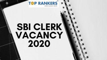 SBI Clerk Vacancy 2020