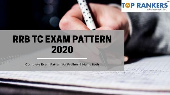 RRB TC Exam Pattern