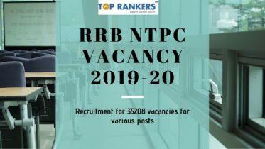 RRB NTPC Vacancy 2019-20