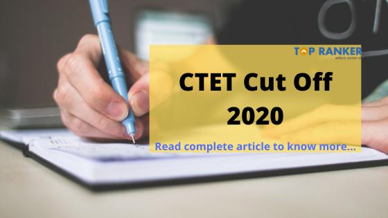 ctet cut off 2020