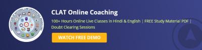 CLAT Online Coaching