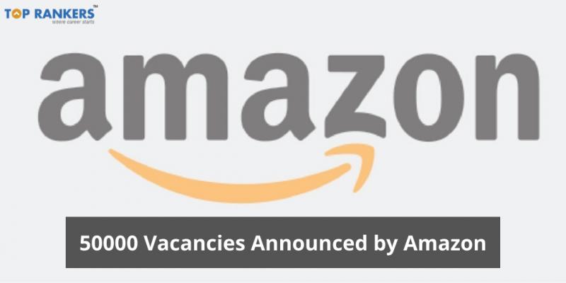 Amazon Jobs: 50,000 Delivery Executives Jobs