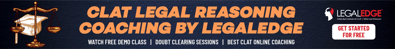 CLAT Legal Aptitude Preparation