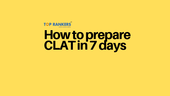 how to prepare clat in a week