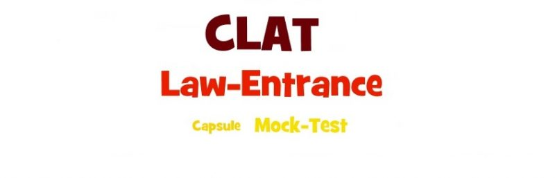 CLAT ALL India test 2016 - CLAT Power Capsules