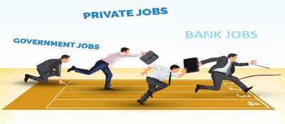Inclination of Indian youth towards government bank jobs