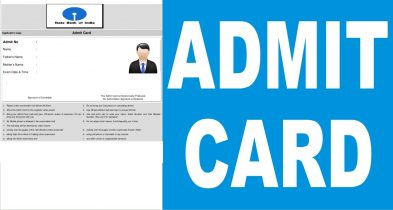 SBI PO Exam Admit Card for Interview & Discussion: 22 August 2016 – Check Here