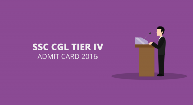 SSC CGL Tier 4 Admit Card 2016 – Download Here