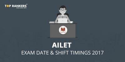 AILET Exam Date and Shift Timings 2017