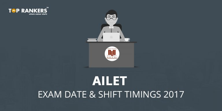 AILET Exam Date And Shift Timings