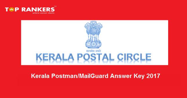 Kerala Postal Circle Answer Key 2017