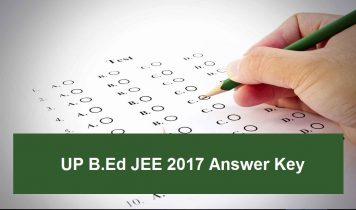 UP B.Ed JEE 2017 Answer Key – Check Here