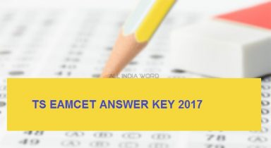TS EAMCET Answer Key 2017 – Question Paper with Solution PDF, Cut off Marks
