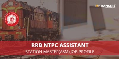RRB NTPC Assistant Station Master(ASM) Job Profile
