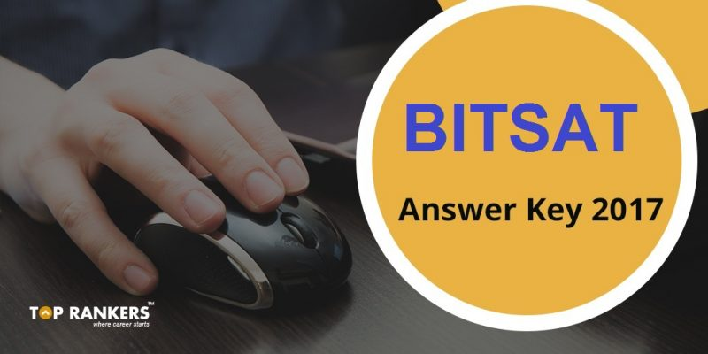 BITSAT Answer Key 2017