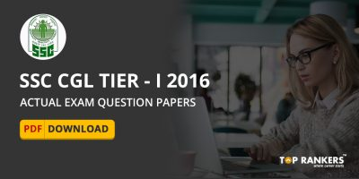 SSC CGL Tier I 2016 Question papers in PDF : Download and Practice Now
