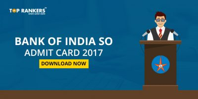 Bank of India Admit Card 2017- Download Call Letter Here