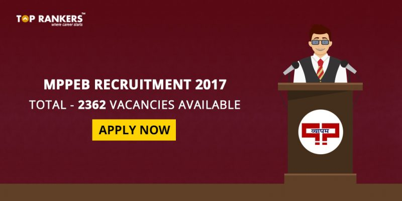 MPPEB Recruitment 2017