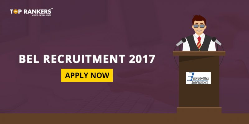 BEL Recruitment 2017 for Engineers