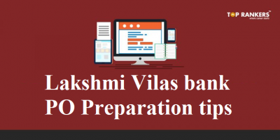 Lakshmi Vilas Bank PO Preparation Tips