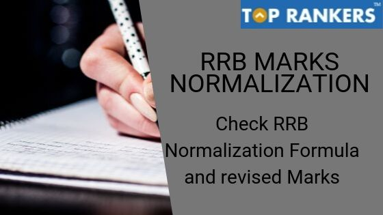 RRB Marks Normalization