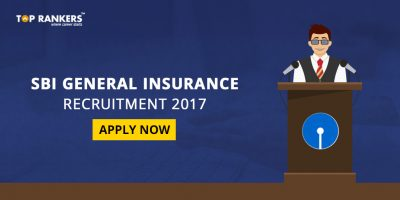 SBI General Insurance Recruitment 2017