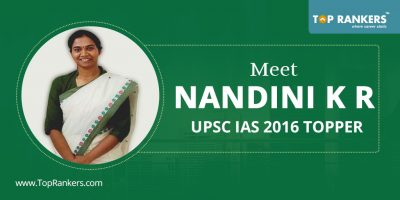 Who is Nandini K R? Profile of UPSC (CSE) 2016 Topper