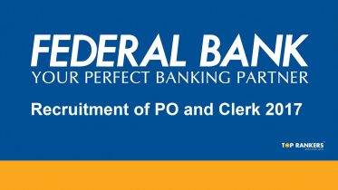 Federal Bank Recruitment 2017 for PO and Clerk
