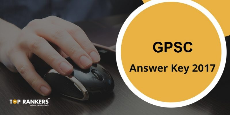 GPSC Answer Key 2017
