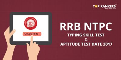 RRB NTPC Typing Skill and Aptitude Test Date