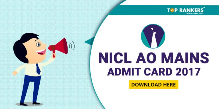 NICL AO Mains Admit Card 2017