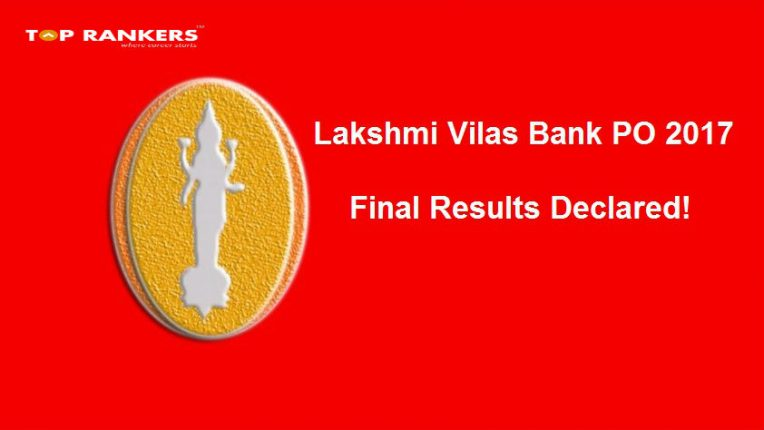 Lakshmi Vilas Bank PO Final Result 2017