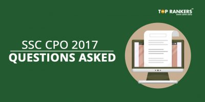 SSC CPO Questions Asked 4th July 2017 for all Slots