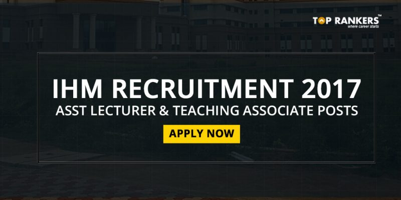IHM Recruitment 2017