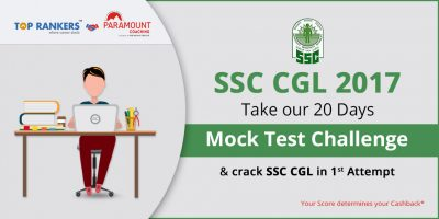 SSC CGL Challenge 2017- 20 Days challenge with 20 Mock Tests for Sure Shot Success