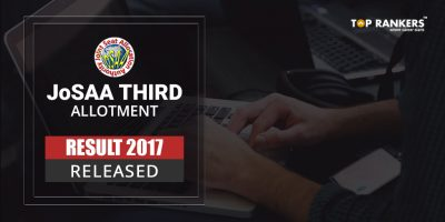 JoSAA Third Allotment Result 2017 Declared – Check Here