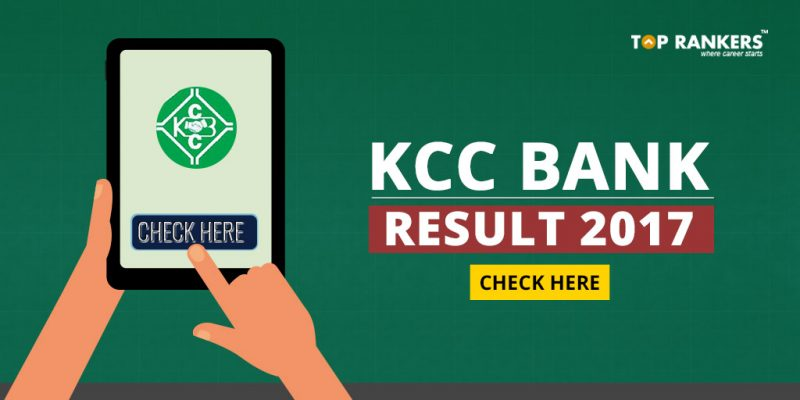 KCC Bank Result 2017