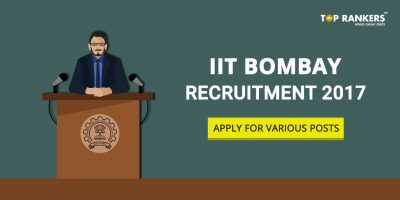 IIT Bombay Recruitment 2017 – Apply for Various Posts