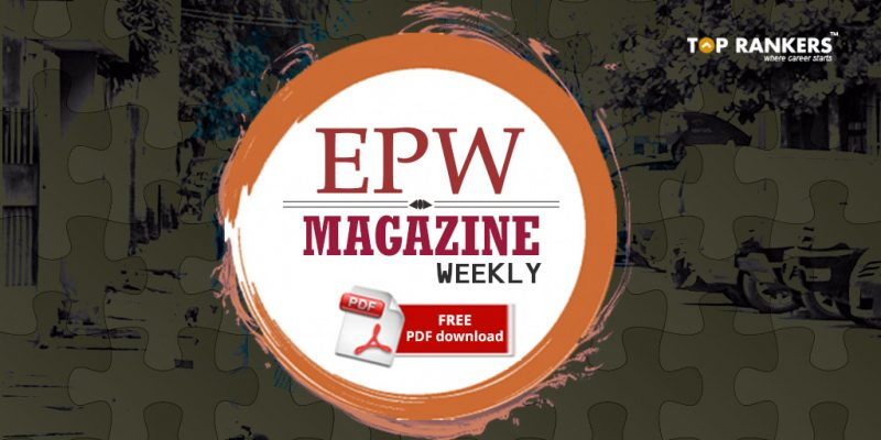 EPW Magazine Weekly FREE PDF download