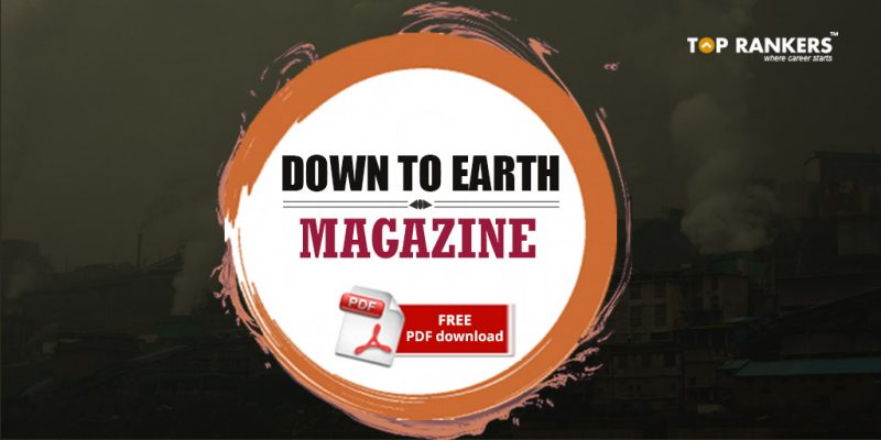 Down to Earth Magazine FREE PDF download